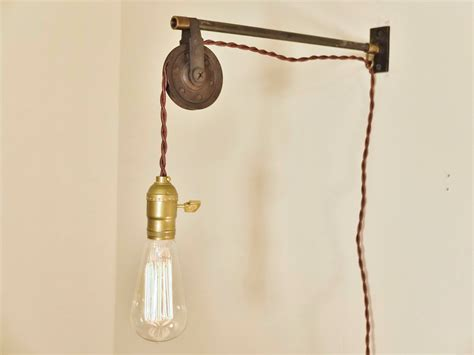 wall mounted pendant light bring back time and childhood through these beautiful wall