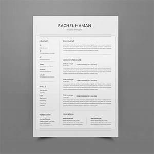 Personal Profile Format In Resume Resume Or Cv Template Editable Psd File Premium Download