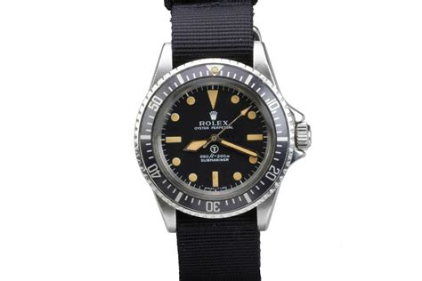 1974 Rolex Military Submariner Ref 5513 Watch For Sale ...