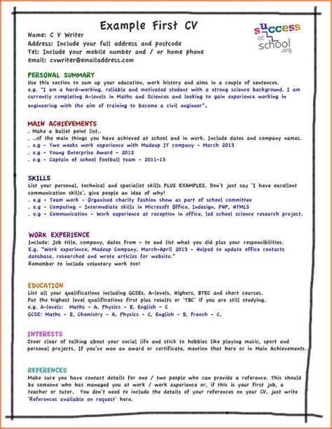 10 cv template student budget template letter