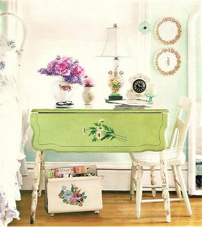 Shabby Chic Decor Bedroom Table Desk Idea