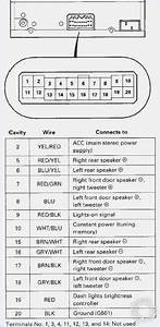 2002 Honda Accord Stereo Wiring Diagram