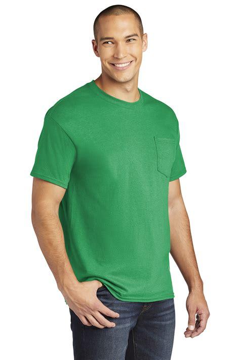 Gildan ® Heavy Cotton ™ 100% Cotton Pocket T-Shirt | 5-5.6 100% Cotton | T-Shirts | Online ...