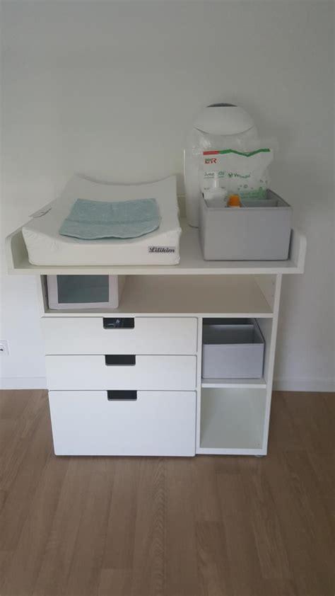 meuble de rangement bureau table à langer évolutive stuva ikea avis