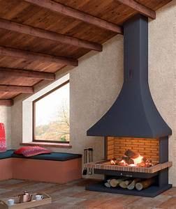 Cheminée à Foyer Ouvert : cheminee foyer ouvert 2015 ~ Premium-room.com Idées de Décoration