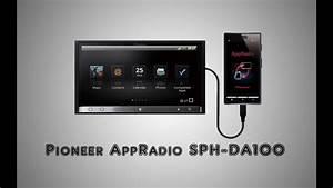 Pioneer Appradio Sph-da100