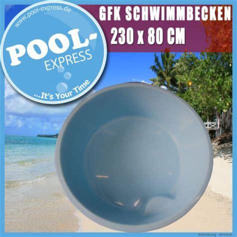 Mini Pool Gfk by Mini Pool 2 3 X 0 8 M Spa Komplett Rundpool Tauchpool Aus