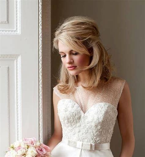 Dressy Updo Hairstyles by Soft Quot Dressy Casual Quot Bridal Style For Midlength Hair