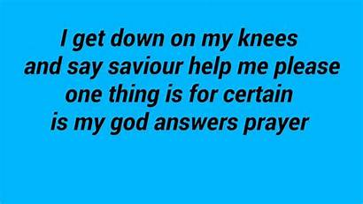 God Prayer Answers Lyrics Da Flame Prayers