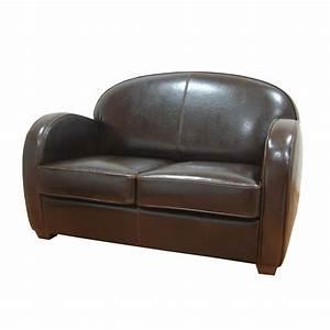 canape cuir steed marron interior39s With canape cuir burov prix