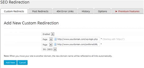 How To Redirect A Page In Wordpress