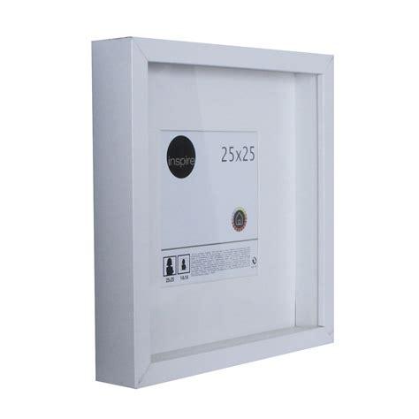 cadre vitrine lario 25 x 25 cm blanc blanc n 176 0 leroy