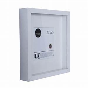 Cadre Blanc Photo : cadre vitrine lario 25 x 25 cm blanc blanc n 0 leroy merlin ~ Teatrodelosmanantiales.com Idées de Décoration