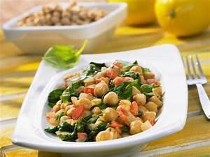 Salat Mit Spinat : kichererbsen spinat salat mit tomaten rezept eat smarter ~ Orissabook.com Haus und Dekorationen
