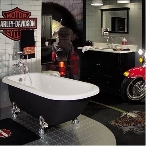 Harley Davidson Bathroom Decor by Harley Davidson Bathroom Decor Unique Theme For Harley Fans
