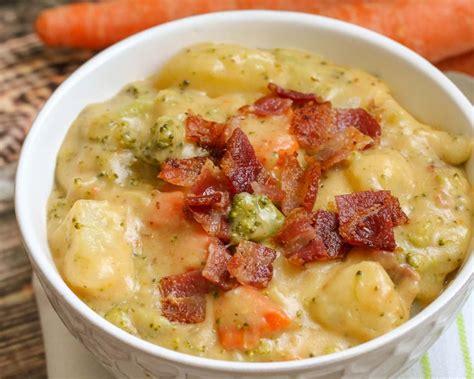 Loaded Broccoli Potato Cheese Soup Recipe Video Lil Luna