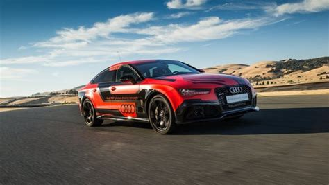 Audi Is Taking Highspeed, Selfdriving Cars To A