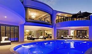 Luxurious, Big, House, Exterior, Design, Image, Good, Looking, Big