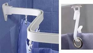 Schiene Für Duschvorhang : flexible duschvorhang haken schiene duschvorhang stange bis 300 cm neu flex ebay ~ Sanjose-hotels-ca.com Haus und Dekorationen