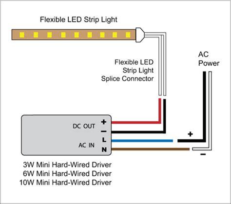 Light Flexible Led Strip Driver Adapter