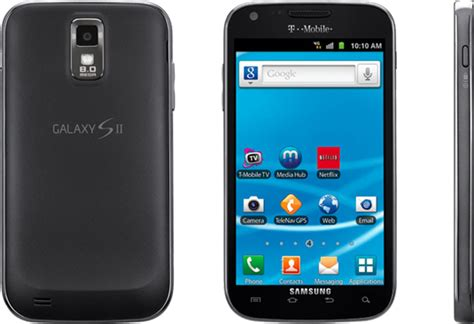 t mobile smartphone t mobile galaxy s ii is the best smartphone t mobile offers