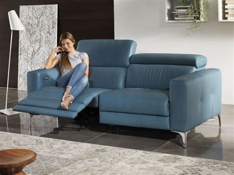 Sofa Relax Great Sof Relax Plazas De Piel With Sofa Relax