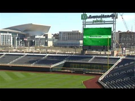 td ameritrade park   home   cws youtube