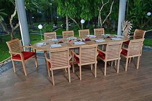 Salon Jardin Teck : salon de jardin teck avec fauteuil jardin ~ Melissatoandfro.com Idées de Décoration