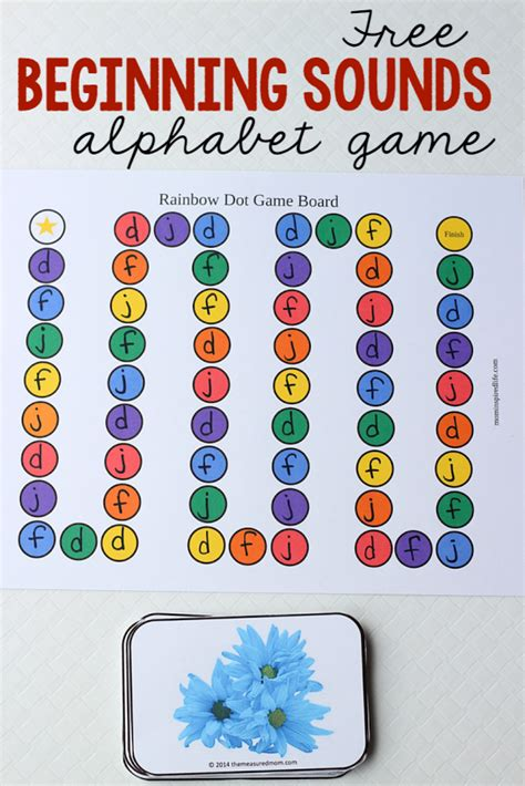 free letters and sounds the measured 215 | beginning sounds alphabet game