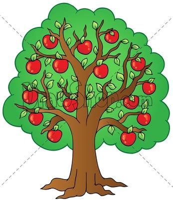 apple tree with roots drawing apple tree illustration clipart panda free clipart images
