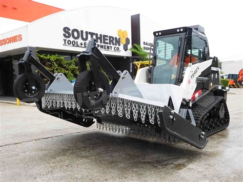ft mm heavy duty skid steer slasher southern tool equipment  earthmoving machinery