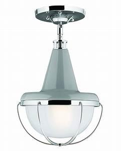 Feiss livingston light mini pendant or semi flush