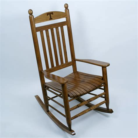 hinkle chair company tennessee tennessee volunteers rocking chair maple finish dcg stores