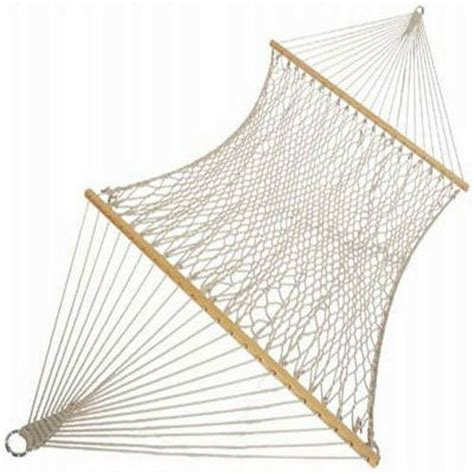 Cotton Rope Hammock by Pawleys Island Hammocks Large Original Cotton Rope Hammock