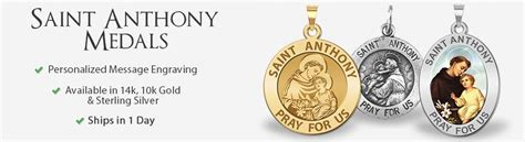 saint anthony medals buy patron saint anthony medals