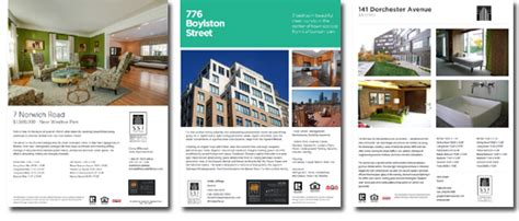 Real Estate Listing Brochure Template by Real Estate Listing Brochure Template 17 Free