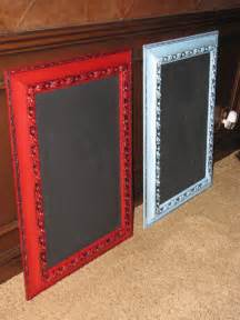 How to Make Your Own Framed Chalkboard