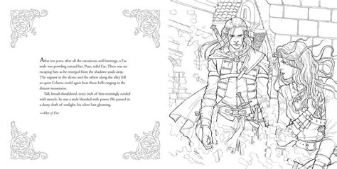 Throne Of Glass Coloring Book