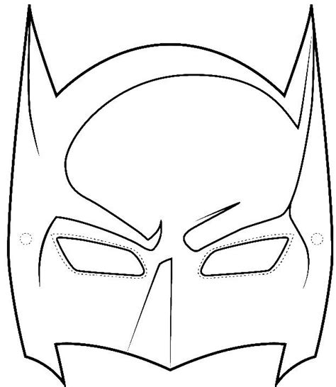 Batman Mask Template by Sle Batman Mask Template Wikihow