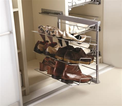 pull out shoe rack wardrobe components norfolk manufacturing kitchens and