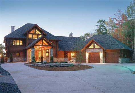 log floor plans exteriors by wisconsin log homes national design build