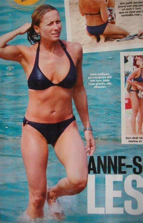 Anne Sophie Lapix Nue Dans Plage Softcore En Bikini