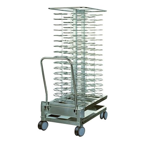 rational rational mobile plate rack  plates model  stainless steel stainless steel