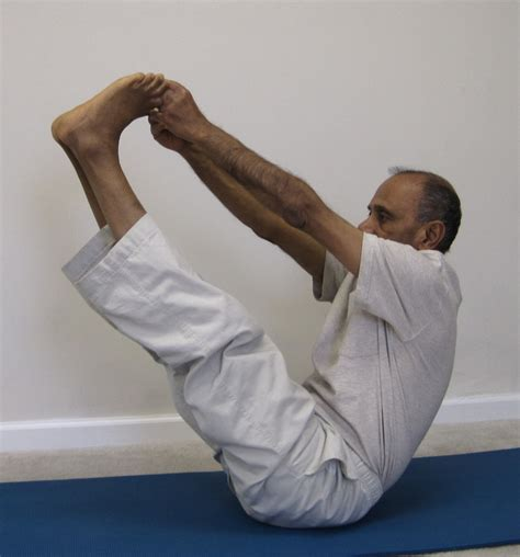 Boat Pose Holding Toes by Strengthen Muscles With Boat Pose With Subhash