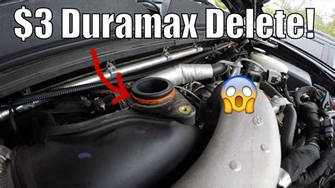 How To Make A Turbo by 3 Duramax Mod Make Turbo Louder Resonator Delete