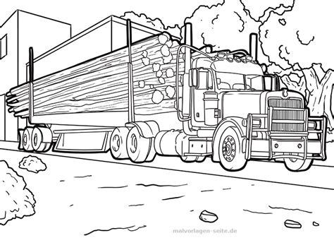 Zahlreiche traktor malvorlagen sind auf dieser website für sie zu wählen. Malvorlage LKW mit Holz | Gratis Malvorlagen zum Download