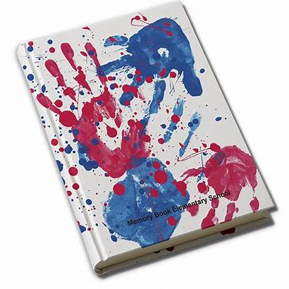 Yearbook Covers Fame Hall Handprints Memorybook Company