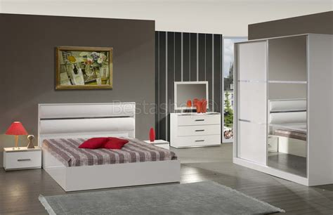 chambre a coucher adulte chambre bois massif adulte