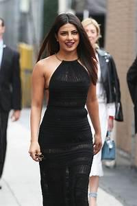 Priyanka Chopra is Stylish - Arriving at Jimmy Kimmel Live ...
