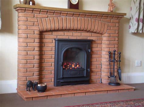Gazco Stockton in existing brick fireplace - Debrett Fires